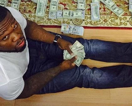 50 Cent fauché ? Il s'affiche avec des liasses de billets sur Instagram !