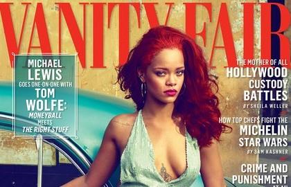 Rihanna : ses photos caliente pour le Vanity Fair US
