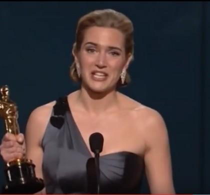 Kate Winslet : «Mon Oscar est posé dans mes toilettes !»