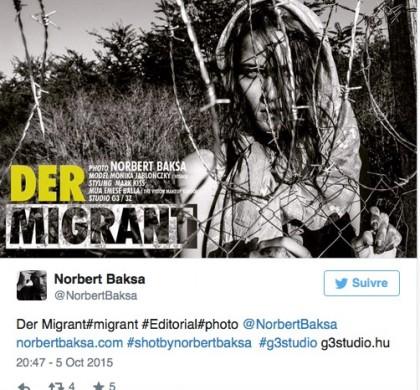 Un shooting mode sur le thème des migrants fait le buzz