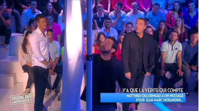 TPMP : Morandini à Delormeau : «Je pourrais dire «je t'adore…» mais non !»