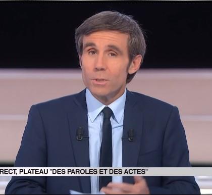 France 2 : David Pujadas explique l'annulation de «Des paroles et des actes»