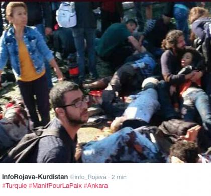 Turquie : au moins 86 morts dans une explosion à Ankara