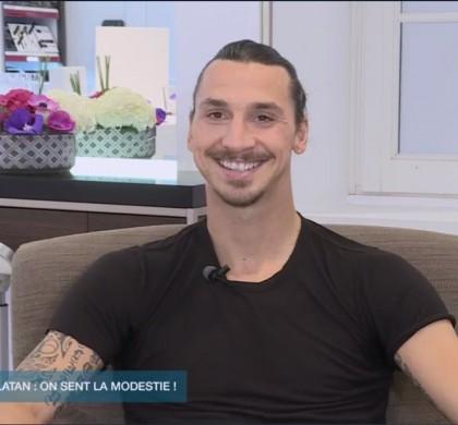 Zlatan : «Quand vous portez mon parfum, vous êtes le boss !»