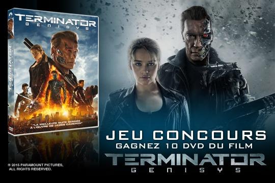 Jeu concours : gagnez 10 DVD du film Terminator Genisys !