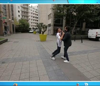 Vidéo : l'incroyable chute de Bertrand Chameroy !