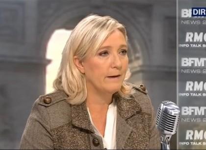 Clash avec Bourdin : Marine Le Pen diffuse des photos chocs de Daech !