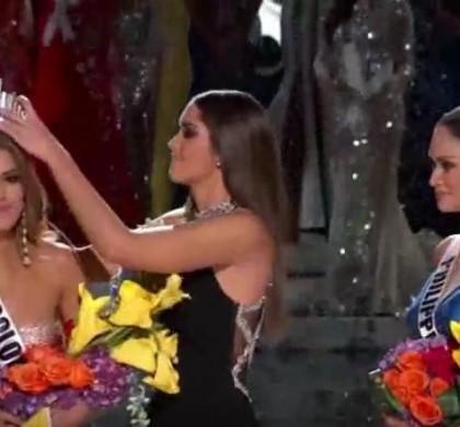 Vidéo : Miss Univers, le présentateur se trompe de gagnante !