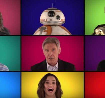 Vidéo : Jimmy Fallon fait chanter les acteurs de Star Wars