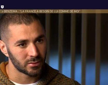 Non, Benzema n'a pas reçu le soutien de Didier Deschamps