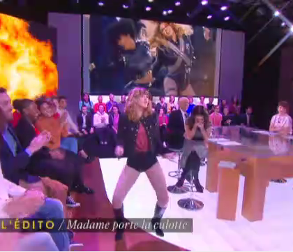 La Nouvelle édition : la danse sexy de Daphné Bürki en Beyonce (Vidéo)