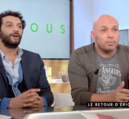 C à vous : Éric et Ramzy s'expliquent après leur blague sur Saint-Nazaire