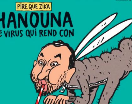 Charlie Hebdo caricature Cyril Hanouna et s'attire les foudres des Fanzouzes
