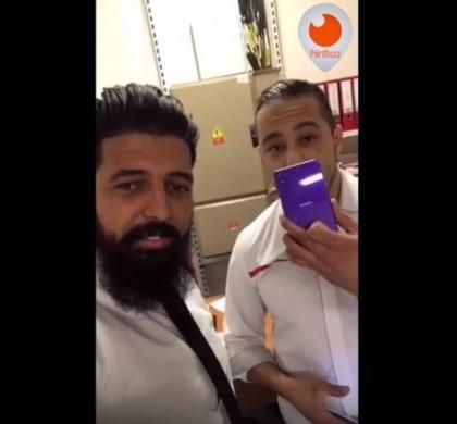 Vidéo : deux employés de SFR détruisent le smartphone d'un client