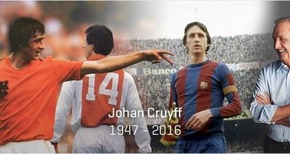 Décès de Johan Cruyff, l'un des plus grands footballeurs du monde