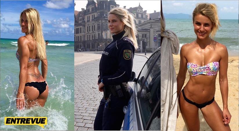 Insolite : Une policière sexy fait le buzz sur Instagram
