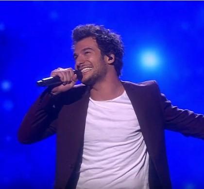 Revoir la prestation d'Amir, arrivé 6e au concours de l'Eurovision !