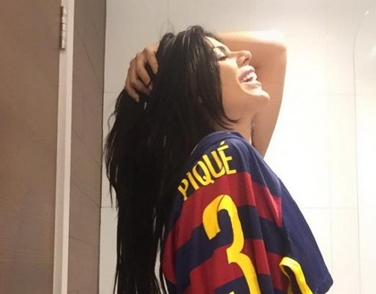 Sexy : après Messi, Miss Bumbum 2015 dévoile ses clichés hot à Gérard Piqué