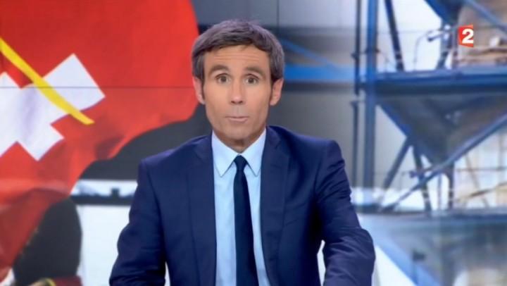 Vidéo : David Pujadas s'énerve en direct pendant le 20 heures de France 2