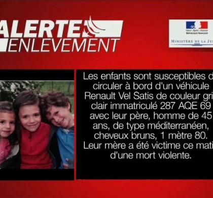 Alerte enlèvement : trois enfants portés disparus dans le Rhône