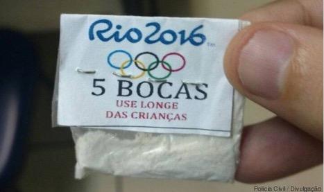 Insolite : De la cocaïne aux couleurs des JO 2016 à Rio