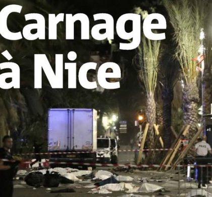 Nice : les Unes de la presse nationale et internationale témoignent de l'horreur