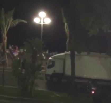 Carnage à Nice : les images de l'attaque diffusées sur les réseaux sociaux