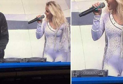 Euro 2016 : Zara Larsson fait le buzz avec sa tenue très moulante et son camel toe !