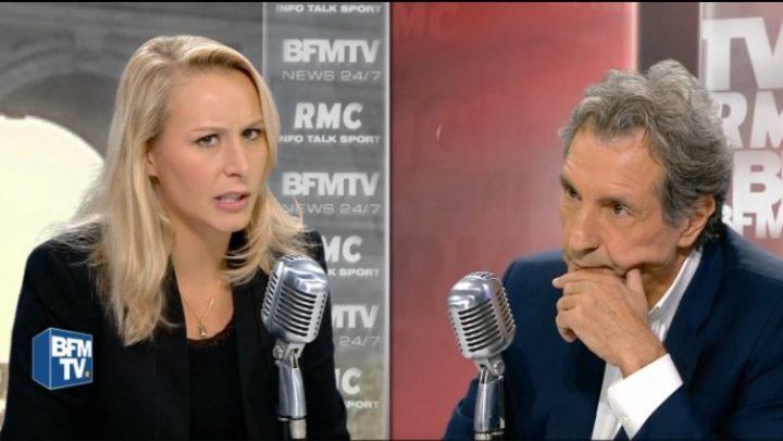 Marion Maréchal-Le Pen sèche sur le nombre d'habitants en Provence Alpes Côte d'Azur