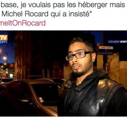 BlameItOnRocard : Twitter ironise sur la défense de Cahuzac !