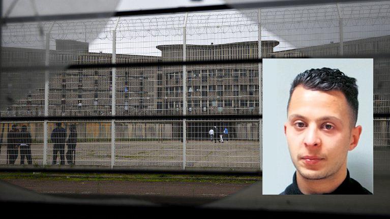 Malgré l'isolement, Salah Abdeslam a pu parler avec un autre détenu
