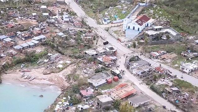 Haïti : plus de 800 morts après le passage de l'ouragan Matthew