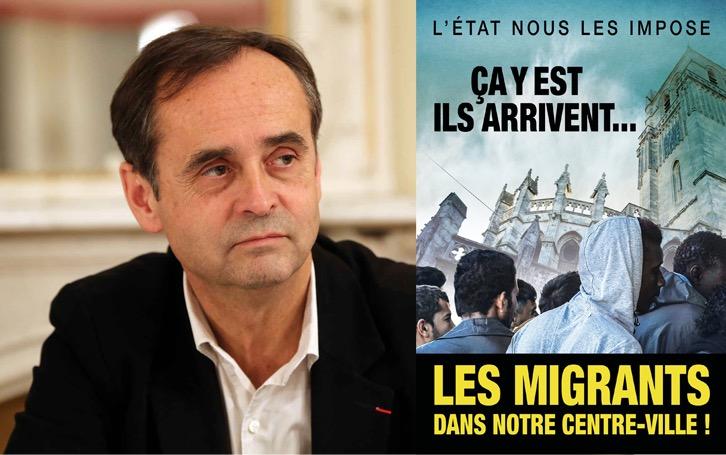 Robert Ménard veut organiser une consultation sur les migrants — Béziers