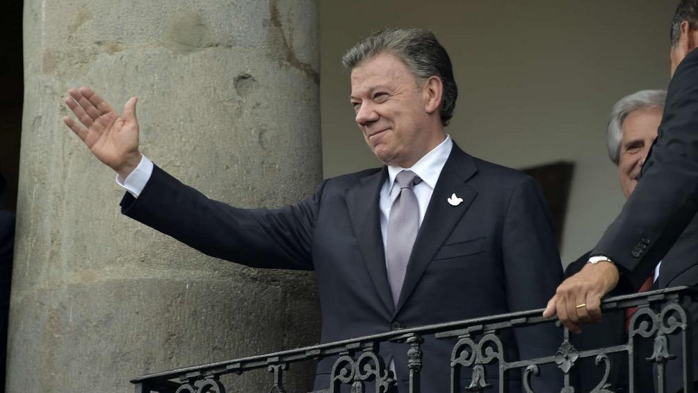 Le prix Nobel de la paix décerné au président Colombien Juan Manuel Santos