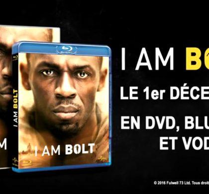 I am Bolt : l'homme derrière la légende – le DVD événement sur la vie d'Usain Bolt