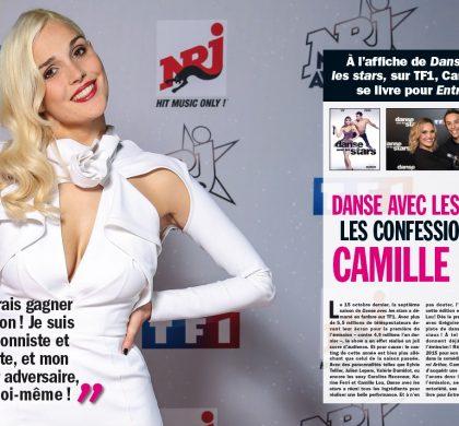 «Danse avec les stars est un défi pour moi» : retrouvez l'interview de Camille Lou dans Entrevue !