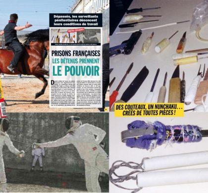 Armes artisanales, activités : Entrevue dévoile des photos exclusives des prisons françaises !