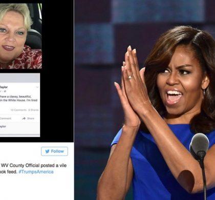 Michelle Obama traitée de «singe à talons» par une responsable américaine