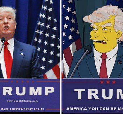 Trump président ? Les Simpson l'avaient prédit… en 2000 !
