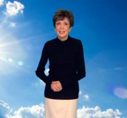 Catherine Laborde a présenté son dernier bulletin météo sur TF1