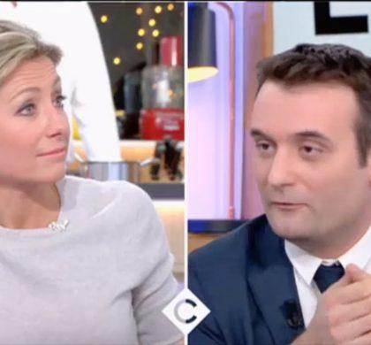«Vous êtes d'une arrogance permanente» : Florian Philippot s'en prend à Anne-Sophie Lapix