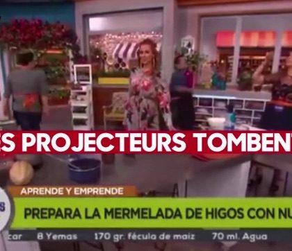 INCROYABLE : Le séisme mexicain en direct à la télévision !!!