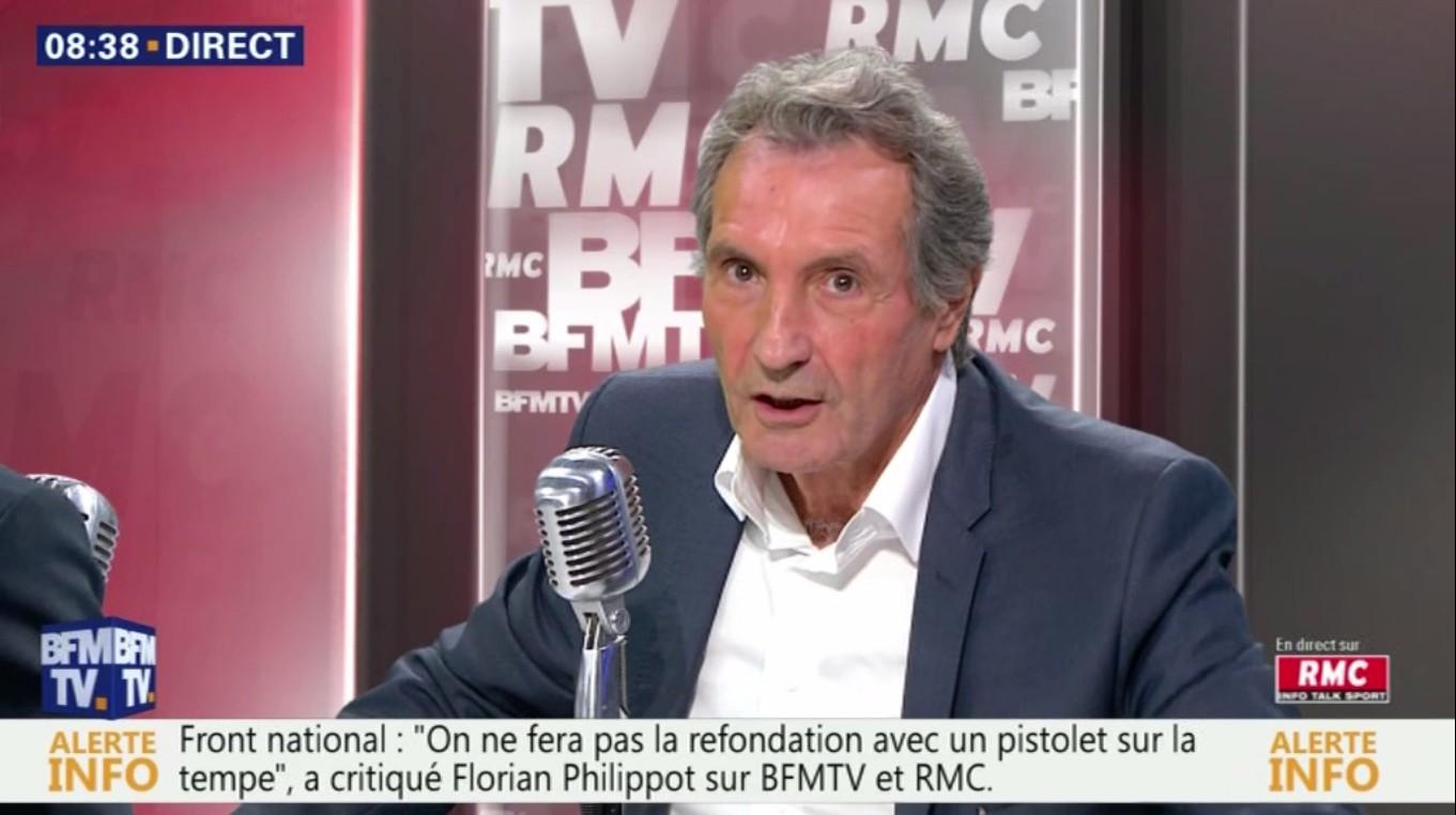 Jean-Jacques Bourdin envoie bouler la régie !