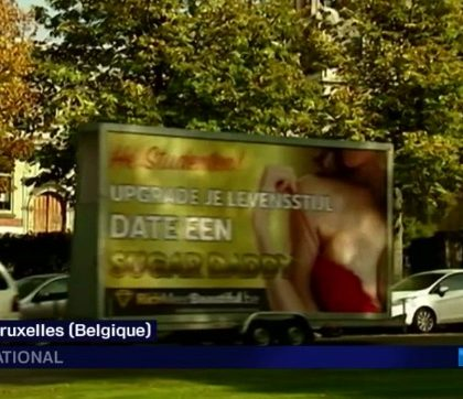 Une publicité scandalise la Belgique …