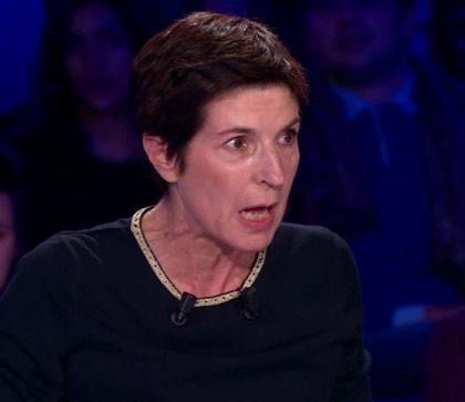 Christine Angot, complètement hystérique !