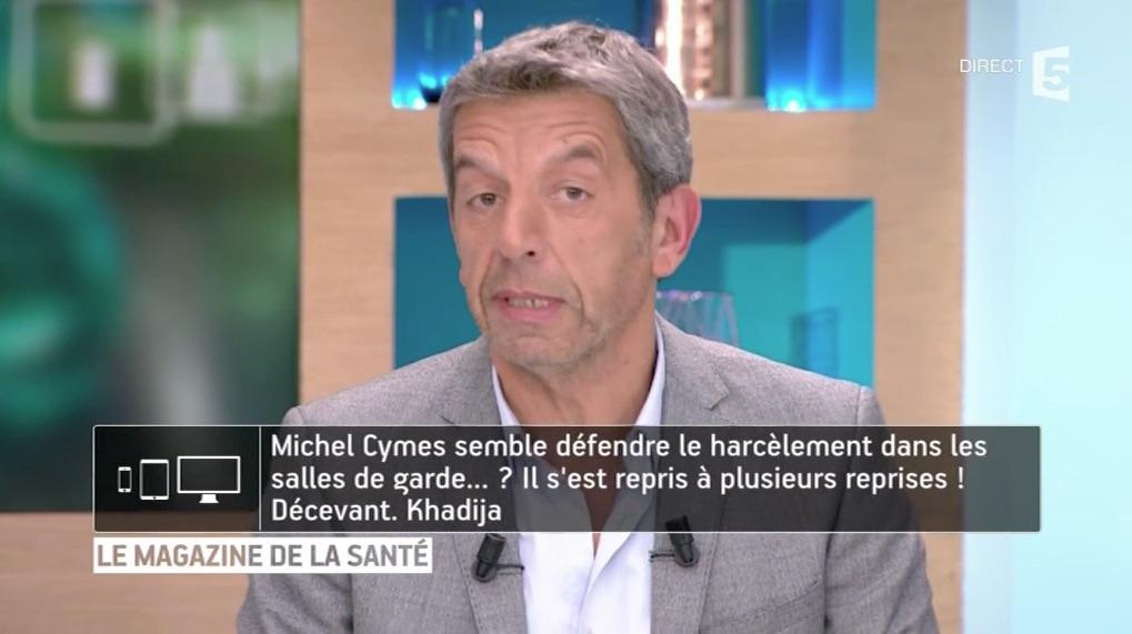 Michel Cymès remet une téléspectatrice à sa place !