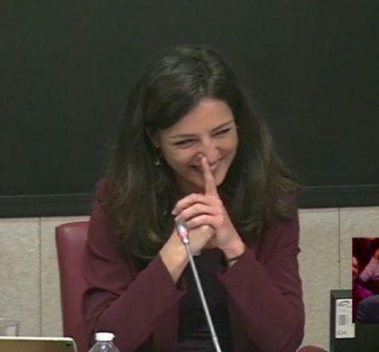 La députée Coralie Dubost perd le contrôle !
