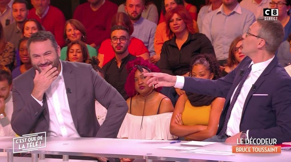 Bruce Toussaint imite Patrick Sébastien !!!