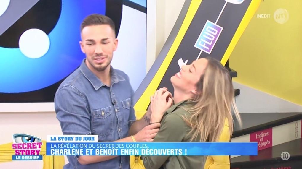 SECRET STORY : Charlène se prend un gros vent par Benoît !