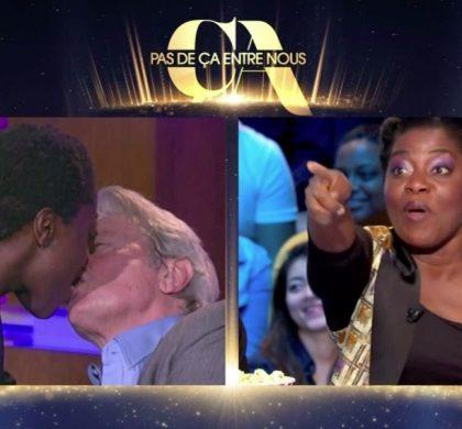 Quand Claudia Tagbo embrassait Alain Delon !